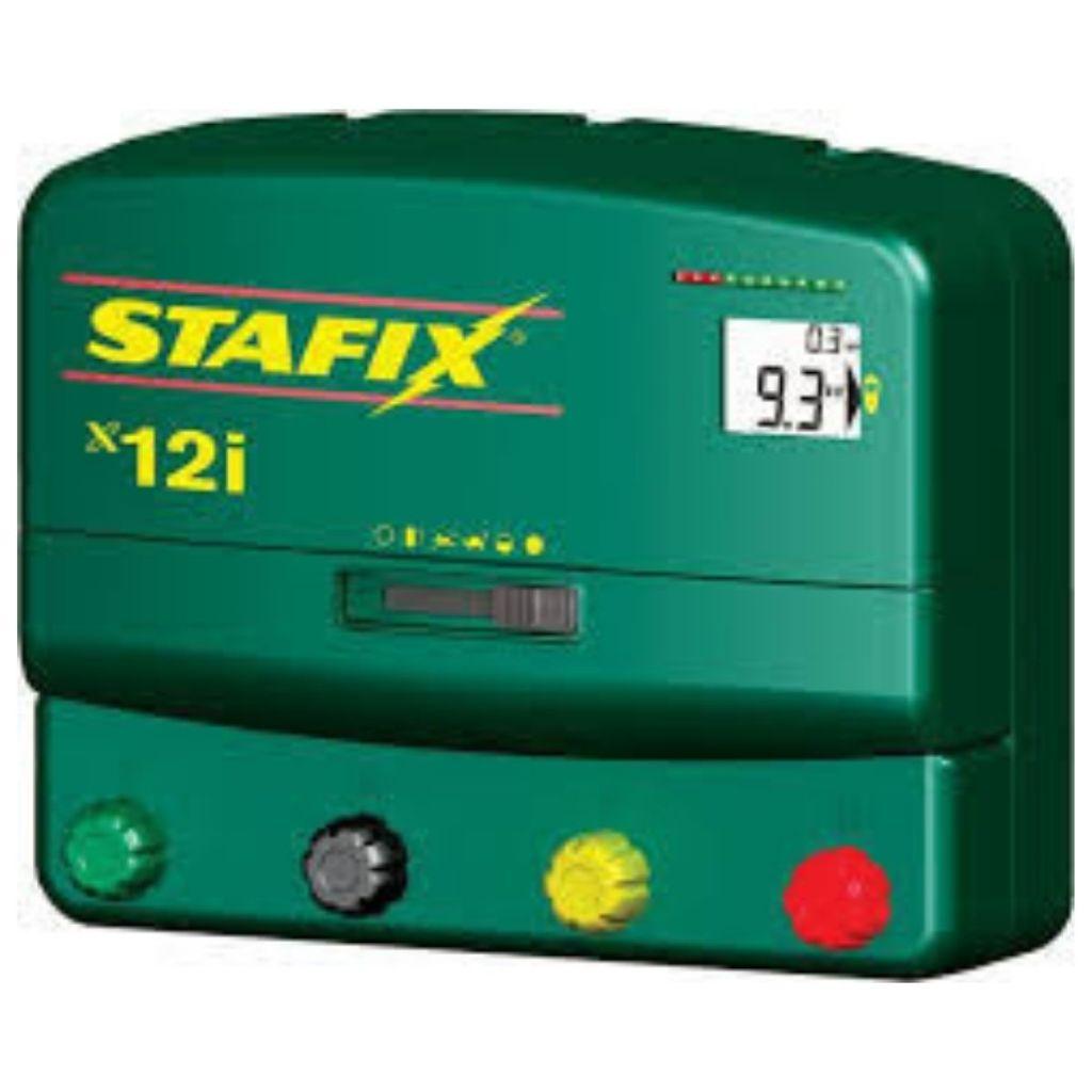 Stafix X12i Electric Fence Energizer Machine, Mains or Solar Powered Electric Fence Energizer Machine in Kenya